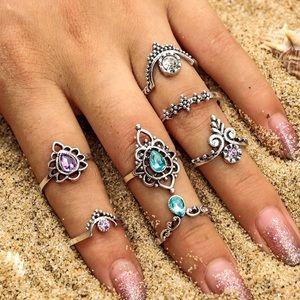 Jewelry - ♛ HERA Bohemian Rings Set